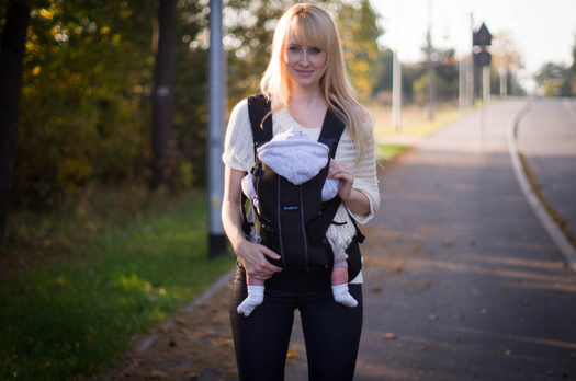 Test nosidełka BabyBjorn