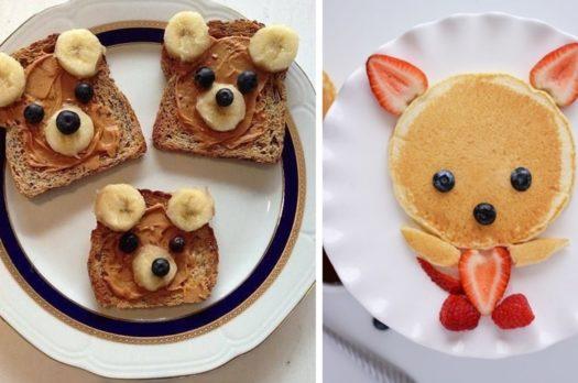 Śniadania dla dzieci na słodko