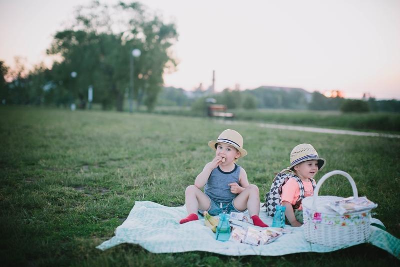Piknik z moimi chłopczykami