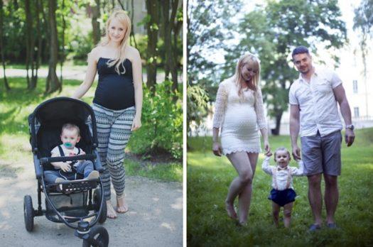 C – jak ciąża. Jak sobie poradzisz jednocześnie będąc w ciąży i opiekując się kilkumiesięcznym maleństwem?