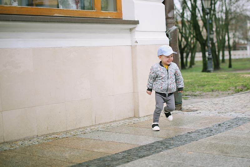Mój mały biega