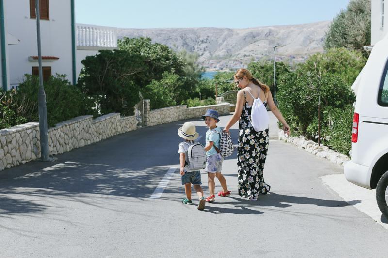 Ja z dziećmi na wakacjach